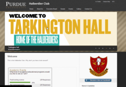 Halberdier Club Website