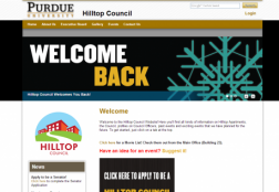 Hilltop Council Website